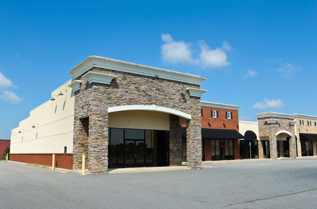 New commercial property